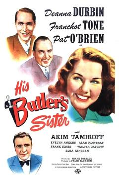 Best Music Movies of 1943 : His Butler's Sister