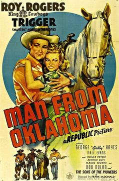 Best Romance Movies of 1945 : Man from Oklahoma