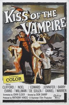 Best Horror Movies of 1963 : The Kiss of the Vampire