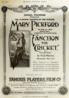 Best Drama Movies of 1915 : Fanchon, the Cricket