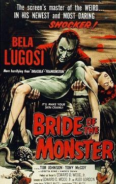 Best Science Fiction Movies of 1955 : Bride of the Monster