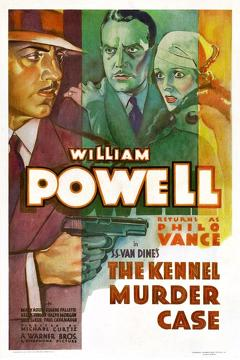 Best Crime Movies of 1933 : The Kennel Murder Case