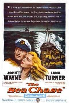Best Action Movies of 1955 : The Sea Chase