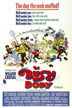 Best Comedy Movies of 1967 : The Busy Body