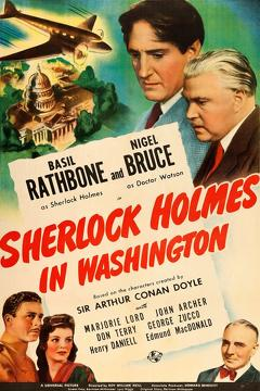 Best Mystery Movies of 1943 : Sherlock Holmes in Washington