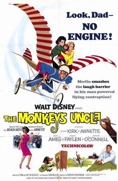 Best Family Movies of 1965 : The Monkey's Uncle