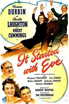 Best Comedy Movies of 1941 : It Started with Eve