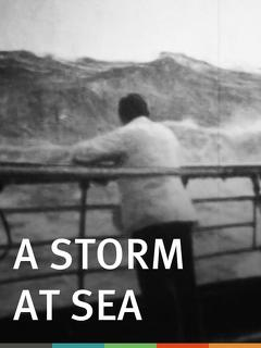 Best Documentary Movies of 1900 : A Storm at Sea