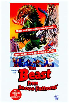Best Horror Movies of 1953 : The Beast From 20,000 Fathoms