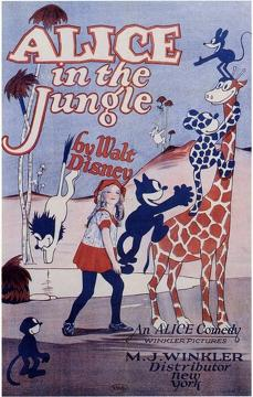 Best Animation Movies of 1925 : Alice in the Jungle