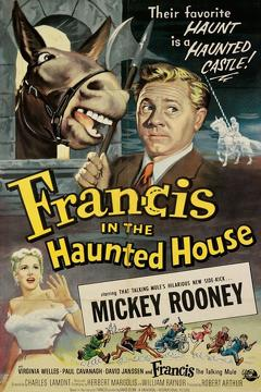 Best Horror Movies of 1956 : Francis in the Haunted House