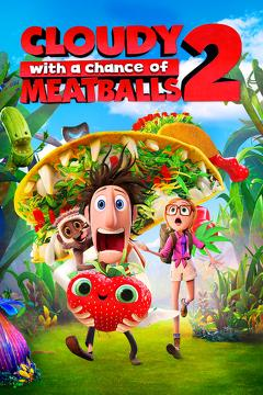 Best Family Movies of 2013 : Cloudy with a Chance of Meatballs 2