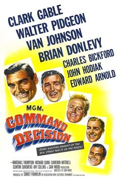 Best War Movies of 1948 : Command Decision