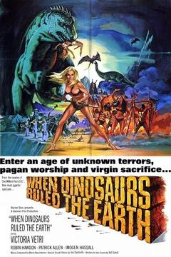 Best Science Fiction Movies of 1970 : When Dinosaurs Ruled the Earth