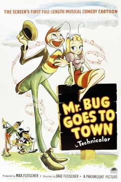 Best Family Movies of 1941 : Mr. Bug Goes to Town