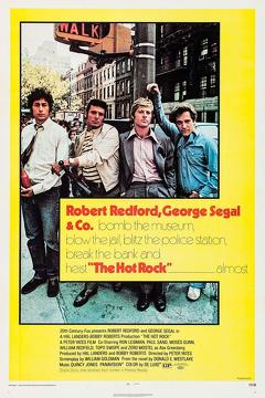 Best Crime Movies of 1972 : The Hot Rock
