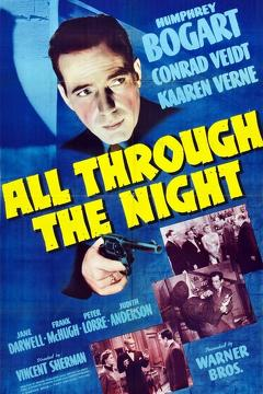 Best Thriller Movies of 1942 : All Through the Night