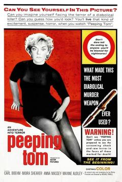 Best Thriller Movies of 1960 : Peeping Tom