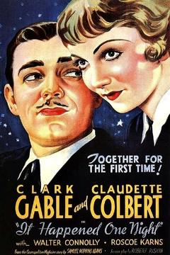 Best Comedy Movies of 1934 : It Happened One Night