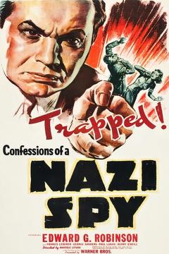Best War Movies of 1939 : Confessions of a Nazi Spy