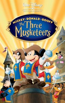 Best Adventure Movies of 2004 : Mickey, Donald, Goofy: The Three Musketeers
