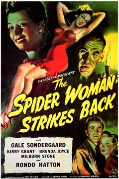 Best Horror Movies of 1946 : The Spider Woman Strikes Back