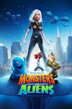 Best Adventure Movies of 2009 : Monsters vs Aliens