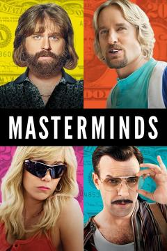 Best Crime Movies of 2016 : Masterminds