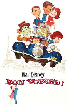 Best Family Movies of 1962 : Bon Voyage!
