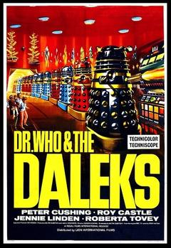 Best Adventure Movies of 1965 : Dr. Who and the Daleks