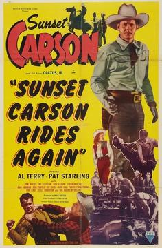 Best Action Movies of 1948 : Sunset Carson Rides Again