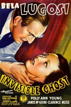 Best Horror Movies of 1941 : Invisible Ghost