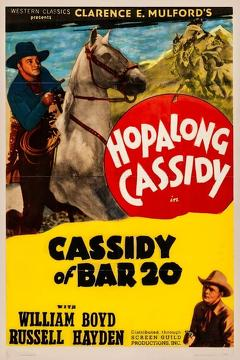Best Western Movies of 1938 : Cassidy of Bar 20