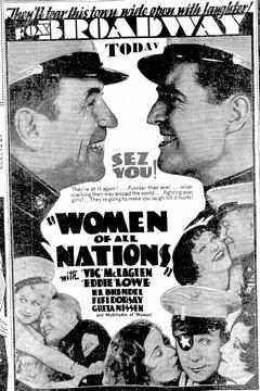 Best War Movies of 1931 : Women of All Nations
