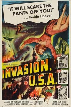 Best Science Fiction Movies of 1952 : Invasion, U.S.A.
