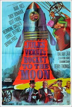 Best Fantasy Movies of 1967 : Jules Verne's Rocket to the Moon