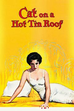 Best Drama Movies of 1958 : Cat on a Hot Tin Roof