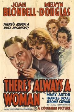 Best Mystery Movies of 1938 : There's Always a Woman