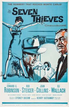 Best Action Movies of 1960 : Seven Thieves