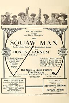 Best Drama Movies of 1914 : The Squaw Man