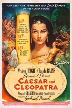 Best History Movies of 1945 : Caesar and Cleopatra