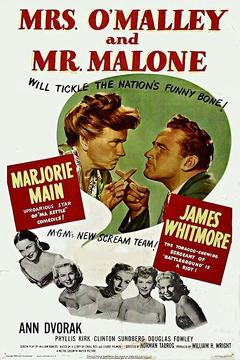 Best Mystery Movies of 1950 : Mrs. O'Malley and Mr. Malone