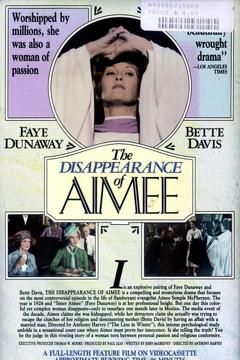 Best Tv Movie Movies of 1976 : The Disappearance of Aimee