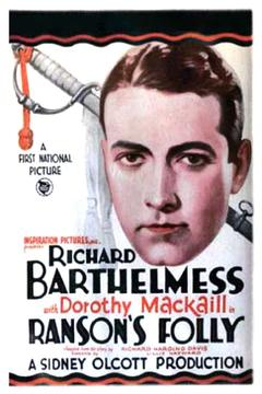 Best Western Movies of 1926 : Ranson's Folly