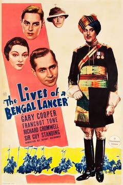 Best War Movies of 1935 : The Lives of a Bengal Lancer