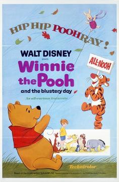 Best Animation Movies of 1968 : Winnie the Pooh and the Blustery Day