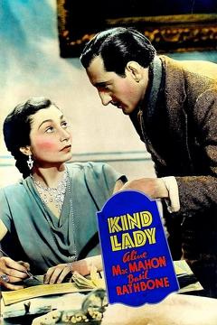 Best Thriller Movies of 1935 : Kind Lady