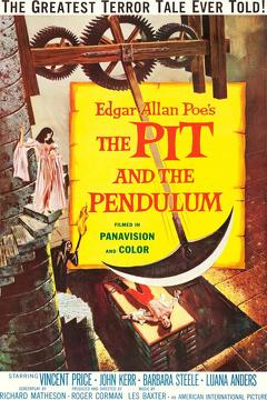 Best Mystery Movies of 1961 : Pit and the Pendulum