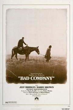 Best Western Movies of 1972 : Bad Company