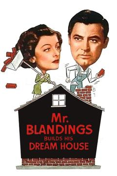 Best Comedy Movies of 1948 : Mr. Blandings Builds His Dream House